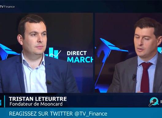 TV Finance x Mooncard - Une carte de paiement dentreprise